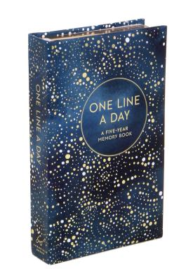 Image for Celestial One Line a Day (Blank Journal for Daily Reflections, 5 Year Diary Book)