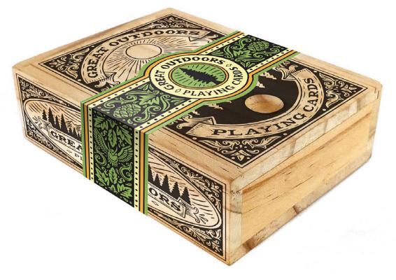 Image for Great Outdoors Playing Cards