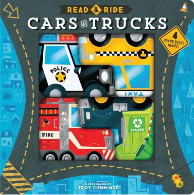 Image for Read & Ride: Cars & Trucks: 4 board books inside!