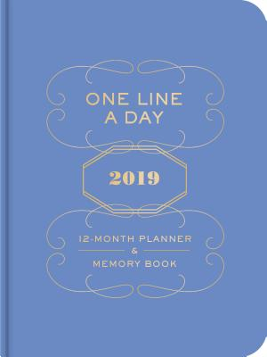 Image for One Line a Day 2019 12-Month Planner & Memory Book