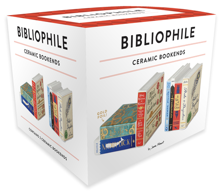 Image for Bibliophile Ceramic Bookends