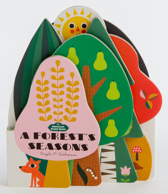 Image for Bookscape Board Books: A Forest's Seasons: (Colorful Children?s Shaped Board Book, Forest Landscape Toddler Book)