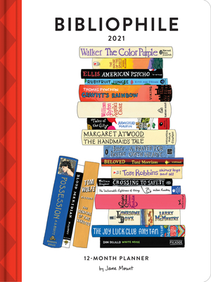 Image for Bibliophile 2021 12-Month Planner: (Weekly Agenda of Miscellany for Book Lovers, Yearly Calendar for Writers)