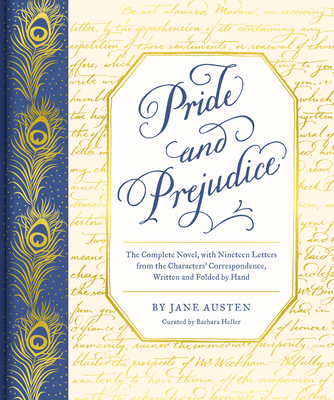 Image for PRIDE AND PREJUDICE: THE COMPLETE NOVEL, WITH NINETEEN LETTERS FROM THE CHARACTER'S CORRESPONDENCE,D