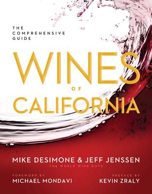 Image for WINES OF CALIFORNIA : THE COMPREHENSIVE GUIDE