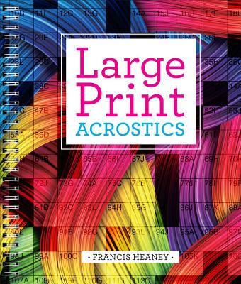 Image for Large Print Acrostics