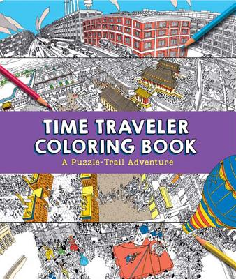 Image for Time Traveler Coloring Book