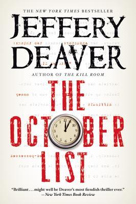 The October List, Jeffery Deaver