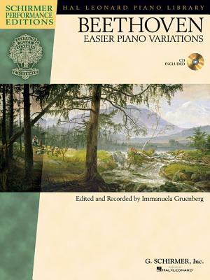 Image for EASIER PIANO VARIATIONS - SCHIRMER PERFORMANCE EDITIONS BOOK/CD
