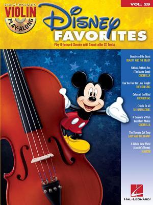 Image for Disney Favorites - Violin Play-Along Volume 29 (Bk/Online Audio) (Hal Leonard Violin Play-Along)