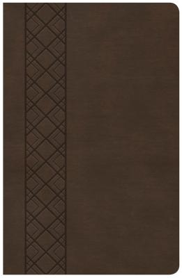 """Image for """"CSB Ultrathin Reference Bible, Value Edition, Brown LeatherTouch"""""""