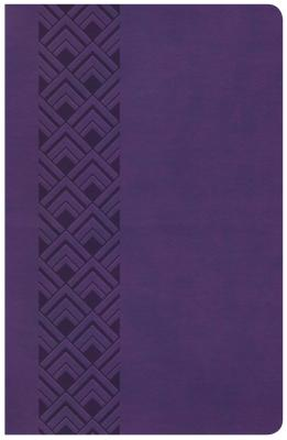 "Image for ""CSB Ultrathin Reference Bible, Value Edition, Purple Leathertouch"""