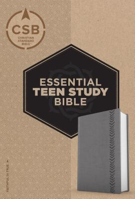 Image for CSB Essential Teen Study Bible, Personal Size, Gray LeatherTouch