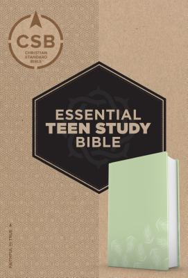 Image for CSB Essential Teen Study Bible, Personal Size, Green Palms LeatherTouch
