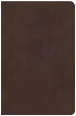 Image for NKJV Large Print Personal Size Reference Bible, Brown Genuine Leather, Indexed