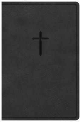 """Image for """"CSB Everyday Study Bible--soft leather-look, charcoal"""""""