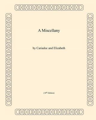 A Miscellany, Friedman, David