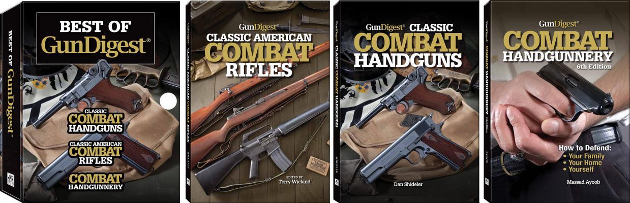 Image for Best Of Gun Digest: (3-Book) Box Set: Classic Combat Handguns, Classic American Combat Rifles, Combat Handgunnery