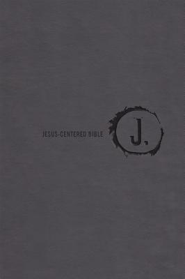 "Image for ""Jesus-Centered Bible NLT, Charcoal"""