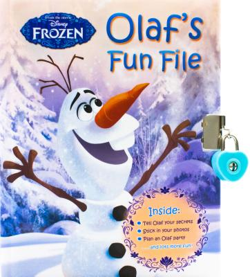 Image for Olaf's Fun File (Frozen - Book of Secrets)