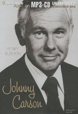 Johnny Carson MP3 CD, Henry Bushkin  (Author), Dick Hill (Reader)