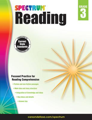 Image for Spectrum Reading Workbook, Grade 3