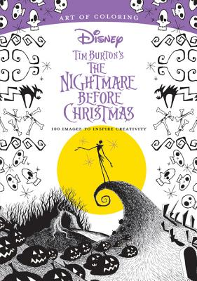 Image for Art of Coloring: Tim Burton's the Nightmare Before Christmas: 100 Images to Inspire Creativity (Art of Coloring)