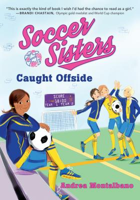 Image for 4/Caught Offside (Soccer Sisters)