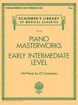 Image for Piano Masterworks: Early Intermediate Level - Schirmer's Library Of Musical Classics