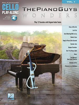 Image for The Piano Guys - Wonders: Cello Play-Along Volume 1 (Hal-Leonard Cello Play-Along)