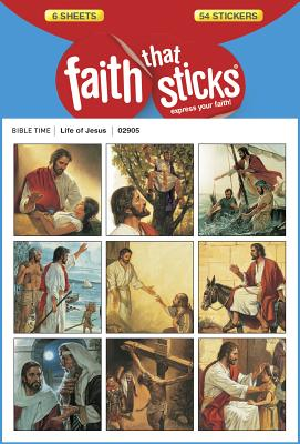 Image for Life of Jesus (Faith That Sticks Stickers)