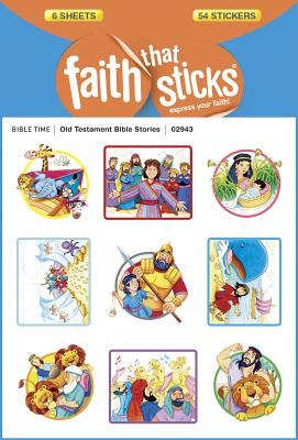 Image for Old Testament Bible Stories (Faith That Sticks Stickers)