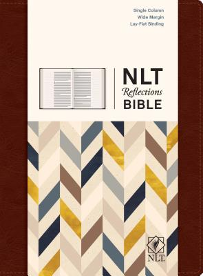 "Image for ""''NLT Reflections: The Bible for Journaling, Brown Leatherlike''"""