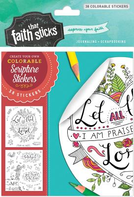 Image for Psalm 103:2 Colorable Stickers