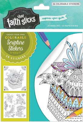 Image for Psalm 16:11 Colorable Stickers