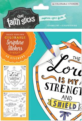 Image for Psalm 28:7 Colorable Stickers