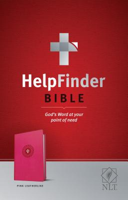 "Image for ""''NLT HelpFinder Bible LeatherLike, Pink''"""