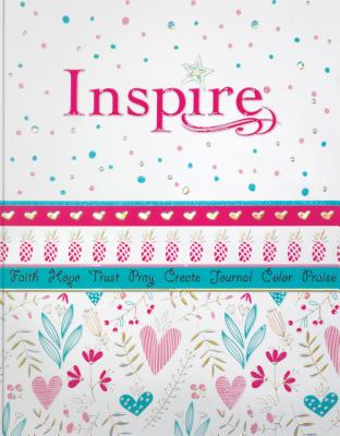 "Image for ""NLT Inspire Bible for Girls, Softcover, Pink"""