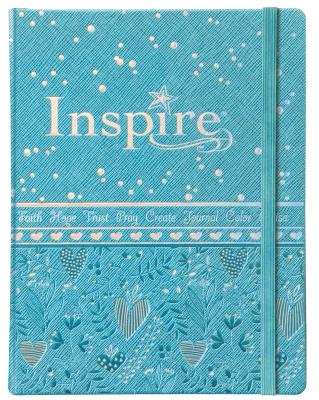 "Image for ""''NLT Inspire Bible for Girls, Leatherlike Hardcover, Blue''"""