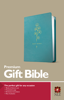 Image for Premium Gift Bible NLT (Red Letter, LeatherLike, Teal)