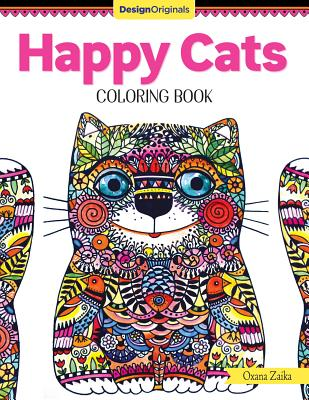 Image for Happy Cats Coloring Book (Design Originals)