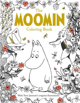 Image for The Moomin Coloring Book