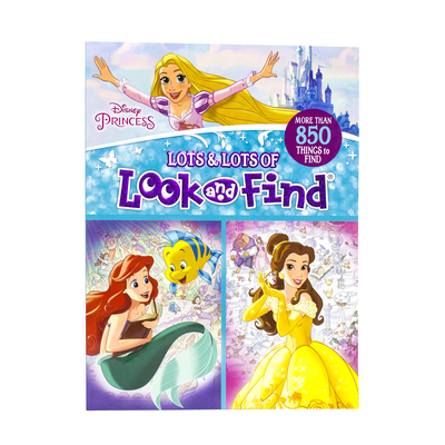 Image for Disney Princess - Lots and Lots of Look And Find Activity Book - PI Kids