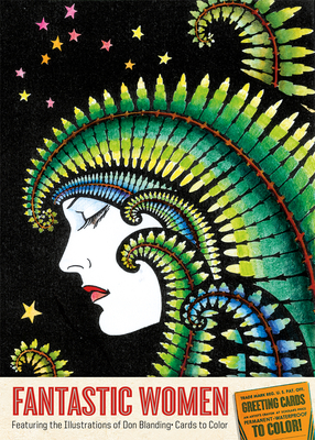 Image for Cards to Color: Fantastic Women: Featuring the Illustrations of Don Blanding