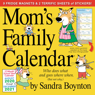 Image for Mom's Family Wall Calendar 2021