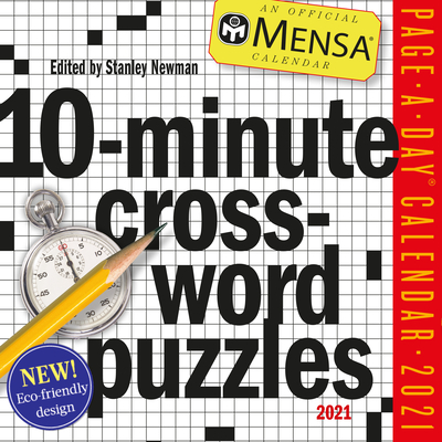 Image for Mensa 10-Minute Crossword Puzzles Page-A-Day Calendar 2021