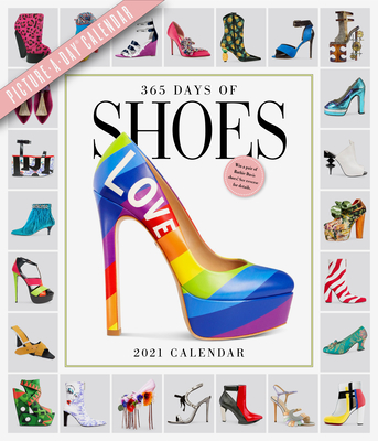 Image for 365 Days of Shoes Picture-A-Day Wall Calendar 2021