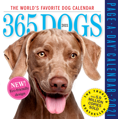 Image for 365 Dogs Page-A-Day Calendar 2021
