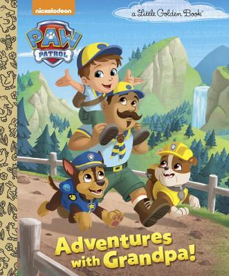 Adventures with Grandpa! (PAW Patrol) (Little Golden Book), Golden Books