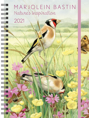 Image for Marjolein Bastin Nature's Inspiration 2021 Monthly/Weekly Planner Calendar